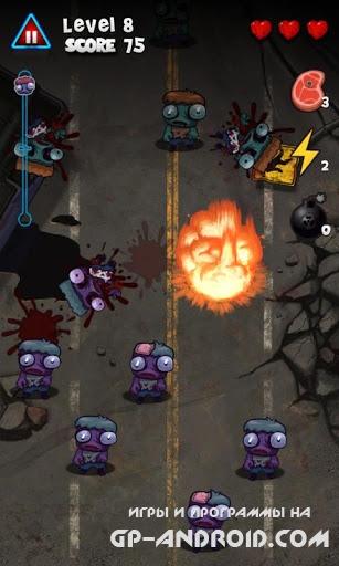 Сокрушитель зомби Zombie Smash