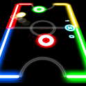 Скачать Glow Hockey Android