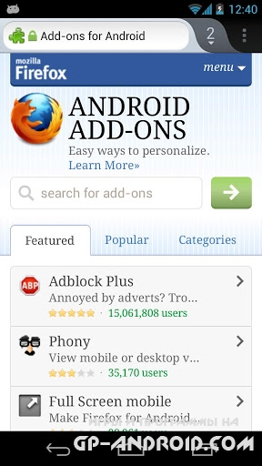 Firefox Android