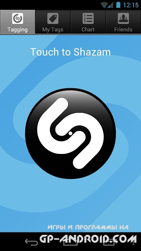 Shazam Android
