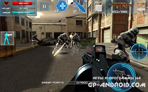 Enemy Strike на Андроид