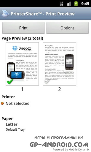 PrinterShare Mobile Print Android