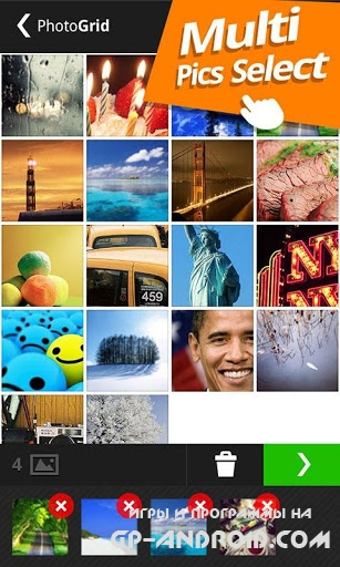 Photo Grid - Collage Maker для Android