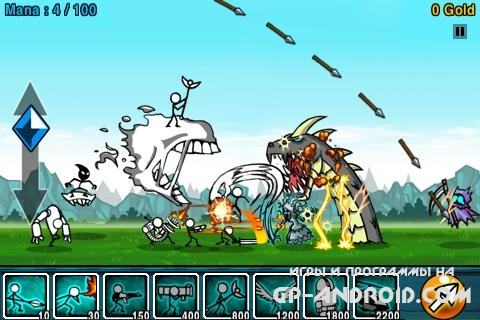 Cartoon Wars на Андроид