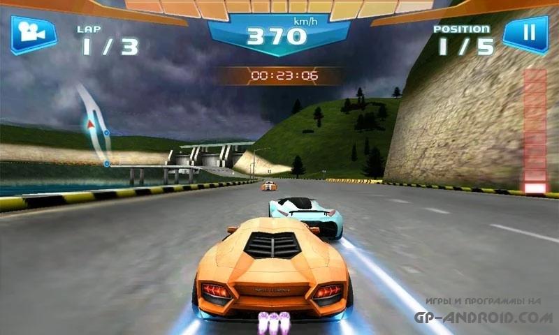 Быстрые гонки 3D - Fast Racing скачать на Андроид