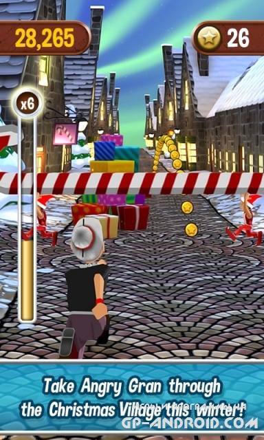 Angry Gran Run - Running Game скачать на Андроид