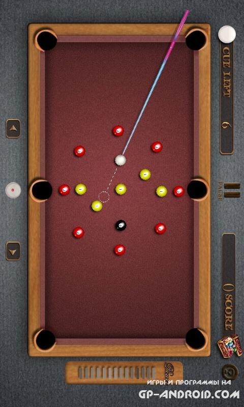 Бильярд - Pool Billiards Pro скачать на Андроид