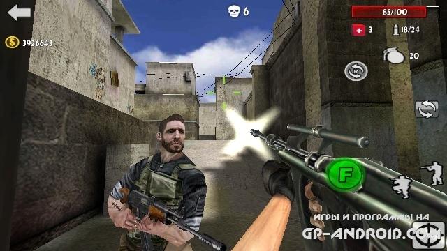 Gun Strike 3D скачать на Андроид