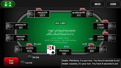 Мобильный PokerStars.net